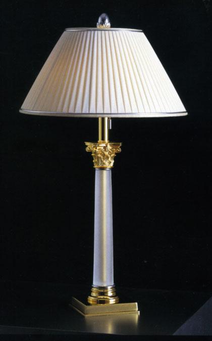 Lampade Ottone Firenze: Lampade da comodino in fusione di ottone brunito cral firenze.