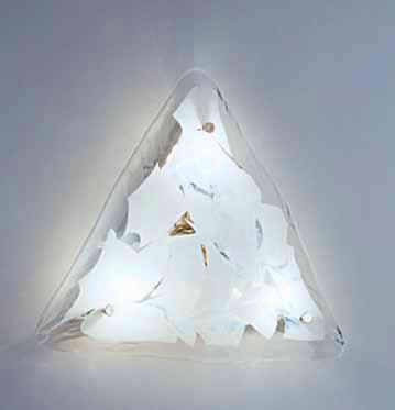 Lampada da soffitto La Murrina 684/PL55 foglia bianca, sconto 50% - PRODOTTO ESAURITO