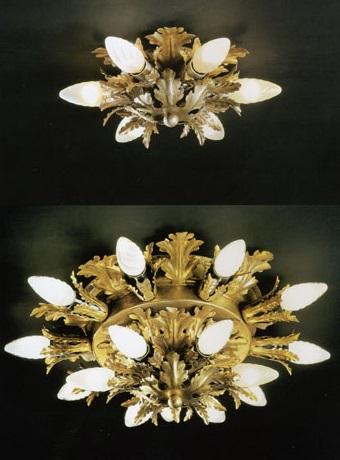 ... Illuminazione classica Plafoniere classiche 71.8510 e 71.8515 di BANCI