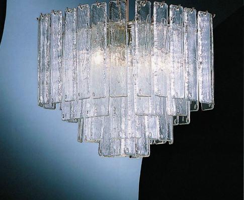 Lampada da soffitto La Murrina 803 R40 graffito cristallo, sconto 50% - PRODOTTO ESAURITO