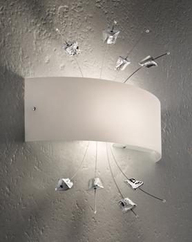 ... Line Illuminazione moderna Applique moderne Carrara LP 6/255 di SILLUX