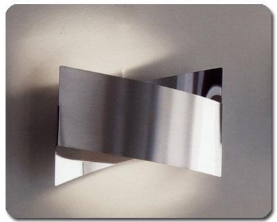 Plafoniere Moderne Per Esterno : Fifì di ultraluce: applique lampada: alogena finitura: acciaio