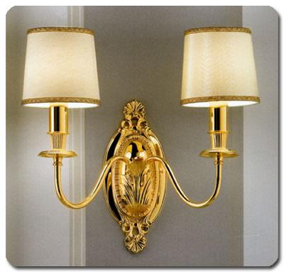 Lampada da parete classica appliqe classica ingresso - Applique per camera da letto ...