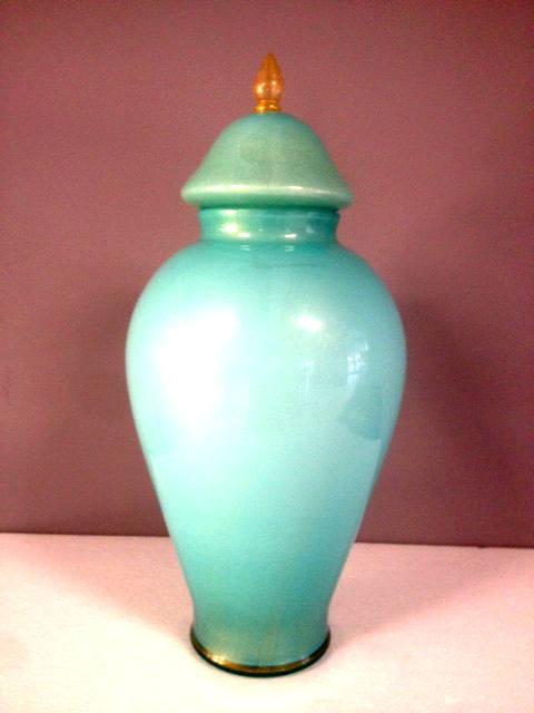 Anfora Cleopatra Poutige piccola Verde, 1 pezzo disponibile, sconto 50%, prezzo scontato 323,00 Euro