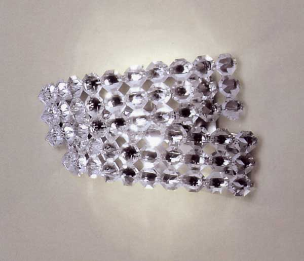 Applique in cristallo modelli disponibili ap2 ap3 - Applique moderne per bagno ...