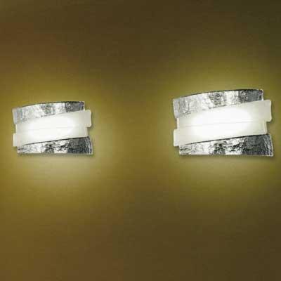 riflessi ap 1068 di a v mazzega lampada da parete moderna. Black Bedroom Furniture Sets. Home Design Ideas