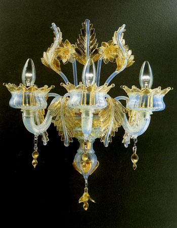 lampadari murrina outlet : Puccini A3 di LA MURRINA: Applique classica 3 luci, disponibile anche ...