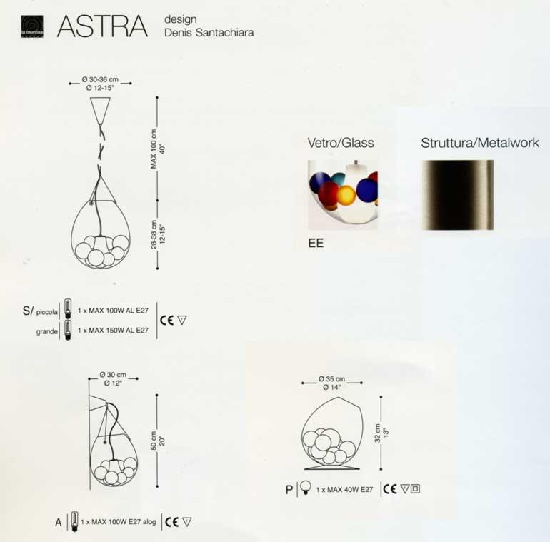 Sospensioni moderne : Astra S di LA MURRINA