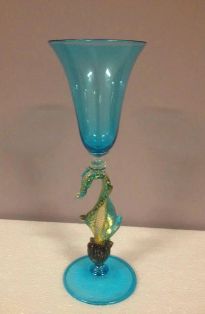 Bicchiere 1995 Turchese, 1 pezzo disponibile, sconto 50%, prezzo scontato 256,00 Euro