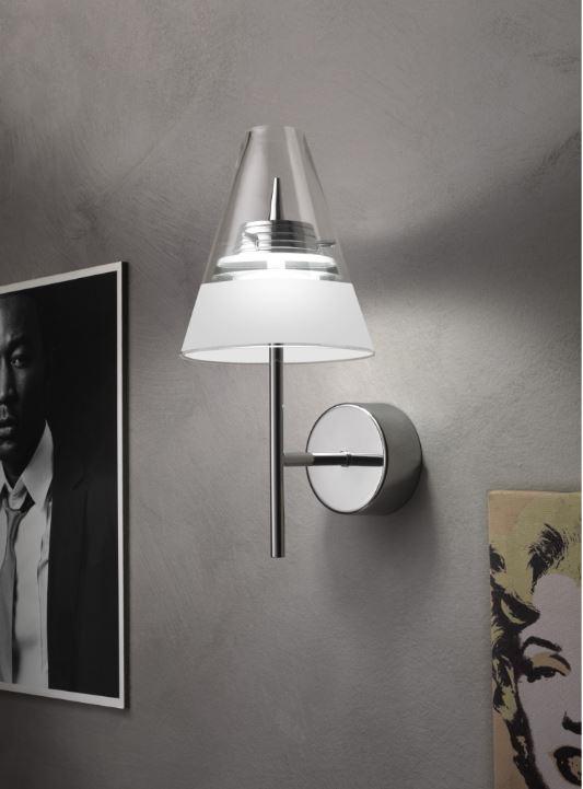 Capri led m2000 di micron lampada da parete moderna for Oggettistica moderna on line