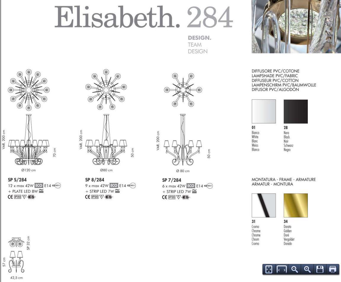 lampadari sillux : elisabeth sp 8 284 di sillux sku 8 284 elisabeth sp 8 284 di sillux ...
