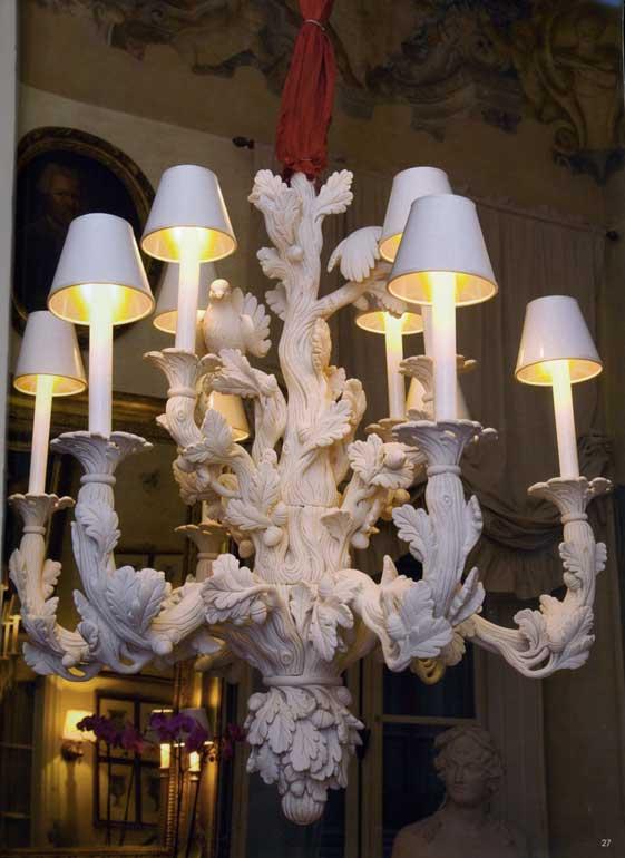 lampadari bianchi moderni : ... On Line Illuminazione classica Lampadari classici Felp 600 di CHELINI