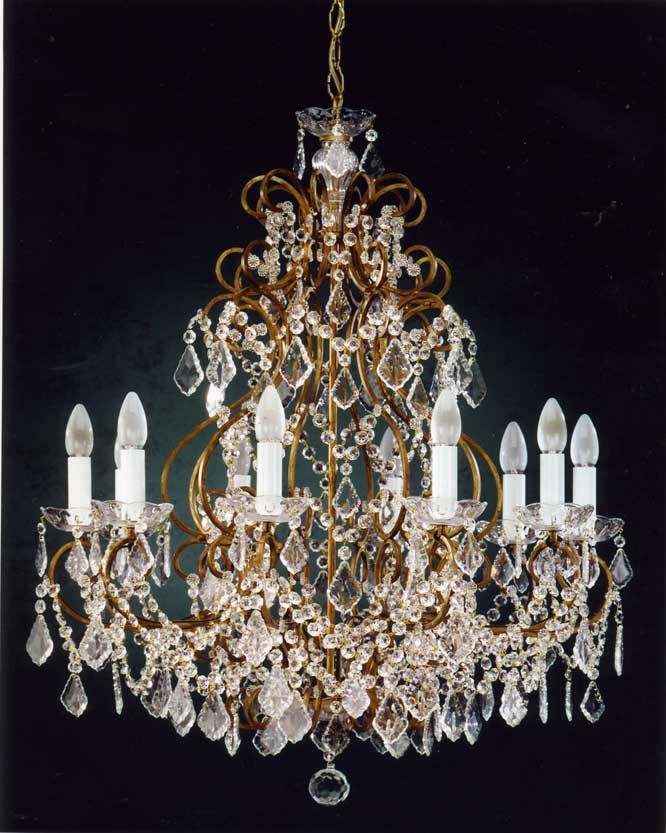 Lampadari classici : PRODOTTO ESAURITO - 125 di FERROLUCE