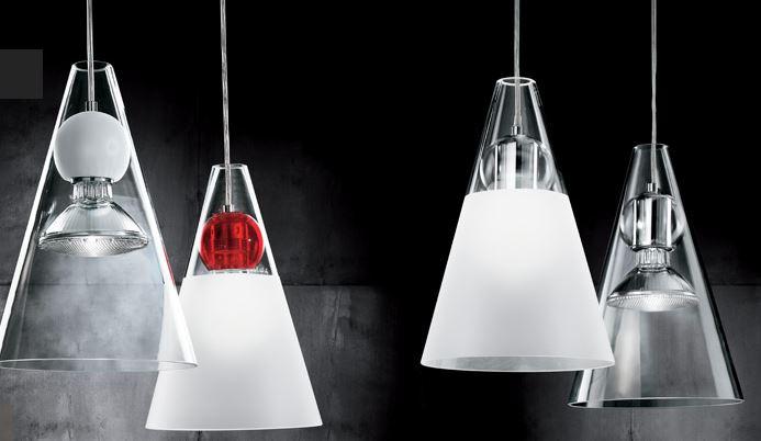 ... On Line Illuminazione moderna Sospensioni moderne Gemma/S di DE MAJO