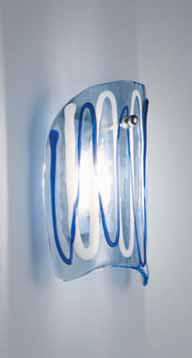 Lampada da parete La Murrina Intrigo/AP Blu, sconto 50%, 4 pezzi disponibili