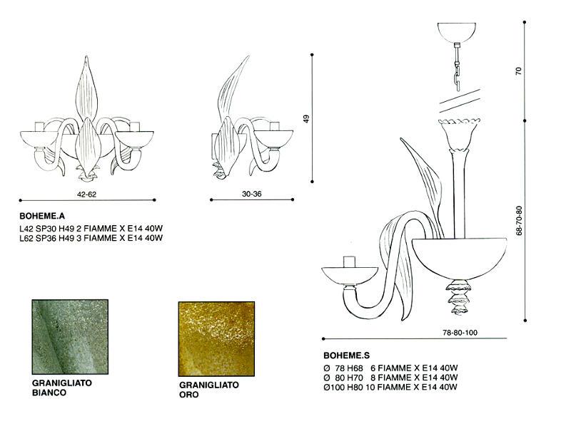 lampadari murrina outlet : Lampadari classici : Boheme di LA MURRINA - PRODOTTO ESAURITO