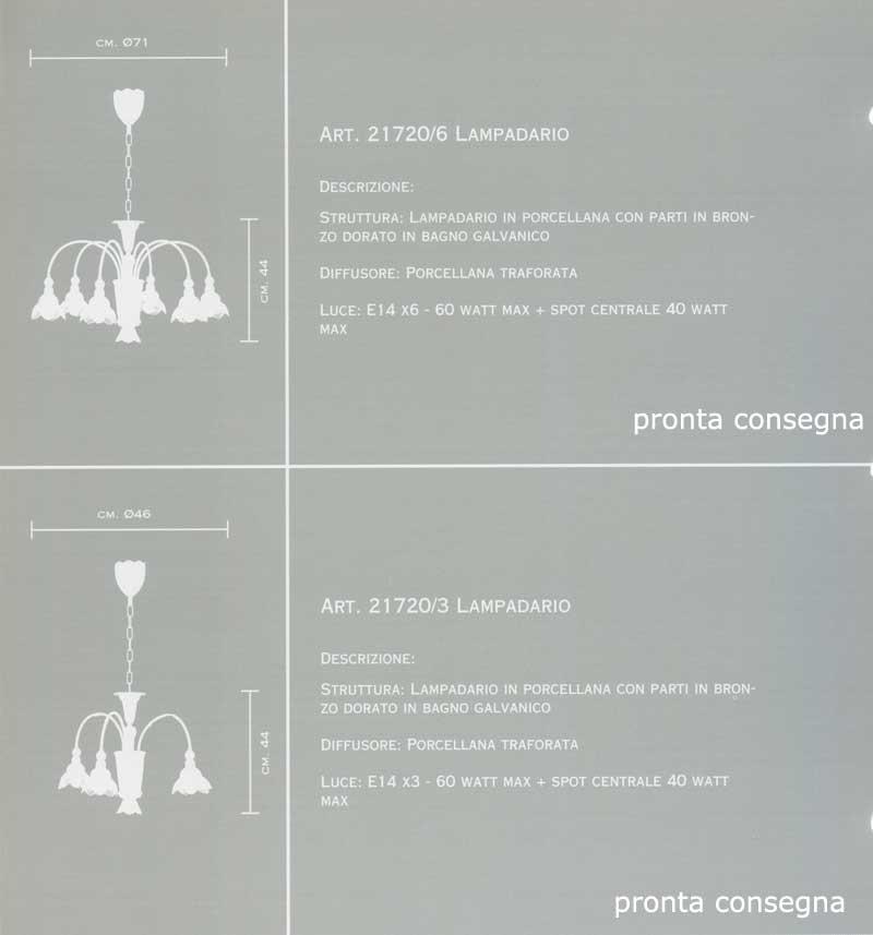 lampadari mangani : Lampadari classici : 21720/6 di MANGANI