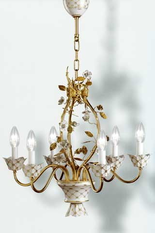 lampadari mangani : ... On Line Illuminazione classica Lampadari classici 21493/6 di MANGANI