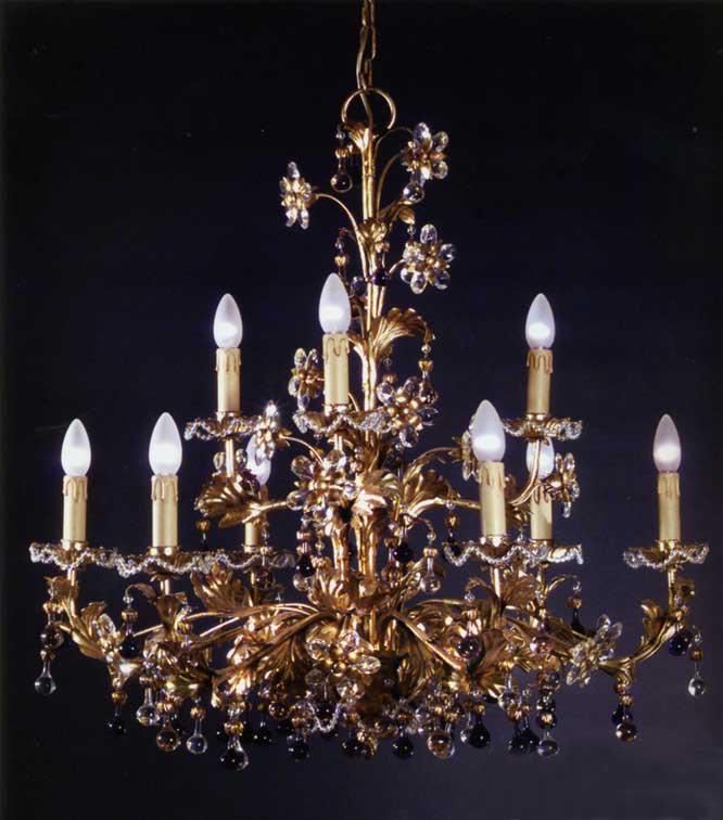Lampadari classici   Lampadario 1316 9 di MONTART PRODOTTO NON DISPONIBILE -> Lampadari Classici Fiorentini