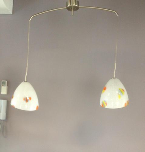 Sospensione La Murrina Perla/S2 bianco murrine colorate, sconto 50% - 1 pezzo disponibile