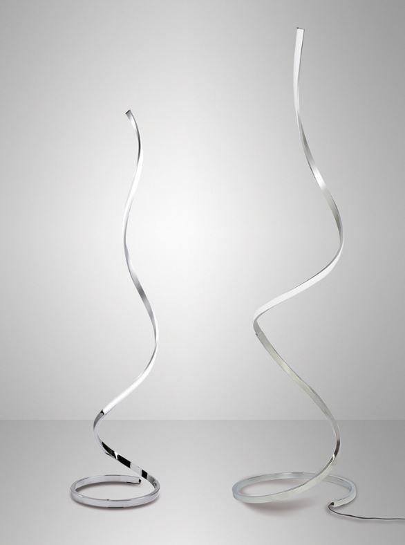 Tipologia: lampada da terra moderna led Montatura e struttura in ...