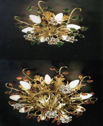 ... Illuminazione classica Plafoniere classiche 72.8512 e 72.8514 di BANCI