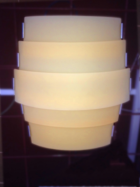 Lampada a soffitto Trio PL ambra, sconto 50%, 1 pezzo disponibile