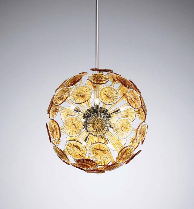 Sospensione La Murrina Planet/S60 ambra, sconto 50% - 1 pezzo disponibile