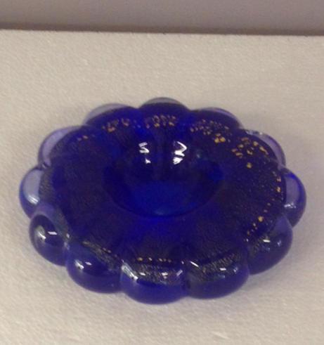 Porta candele Happy grande blu, 1 pezzo disponibile, sconto 50%, prezzo scontato 30,50 Euro