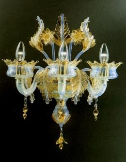 Puccini A2 di LA MURRINA -2 luci cristallo/oro PROMOZIONE META' PREZZO Image 1