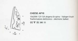Cheese AP 10 di DE MAJO - PRODOTTO ESAURITO Image 1