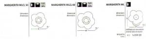 Margherita WLCL 50 di TOFFOLIGHTS- PRODOTTO ESAURITO Image 1