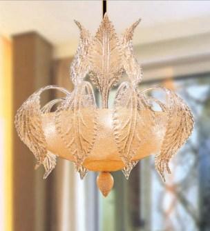 Sospensione La Murrina Turandot S50 graniglia ambra, sconto 50% -  PRODOTTO ESAURITO Image 0