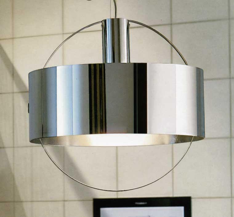 lampadari panzeri : ... On Line Illuminazione moderna Sospensioni moderne Ring Inox di PANZERI