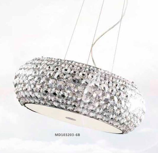 Star md 103203 6b di illuminati sospensione moderna for Oggettistica moderna on line