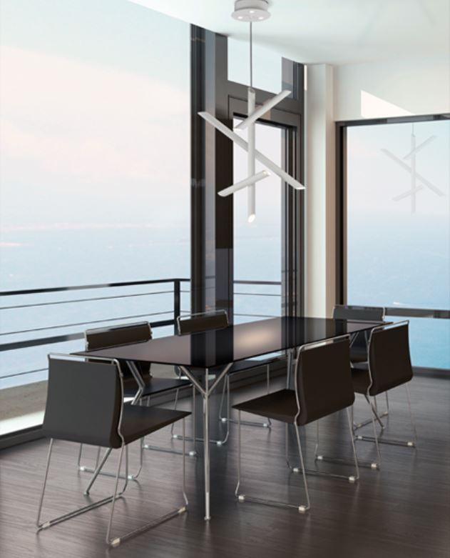 Sospensione moderna take 5770 di mantra lampada da terra for Oggettistica moderna on line