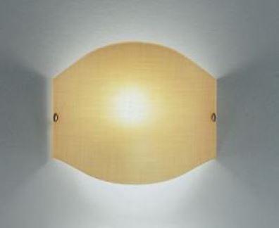 Outlet illuminazione zz applique moderna tessuto app ambra