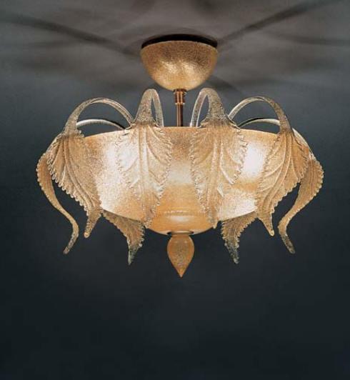 Lampada da soffitto La Murrina Turandot R60 graniglia ambra, sconto 50% - PRODOTTO ESAURITO