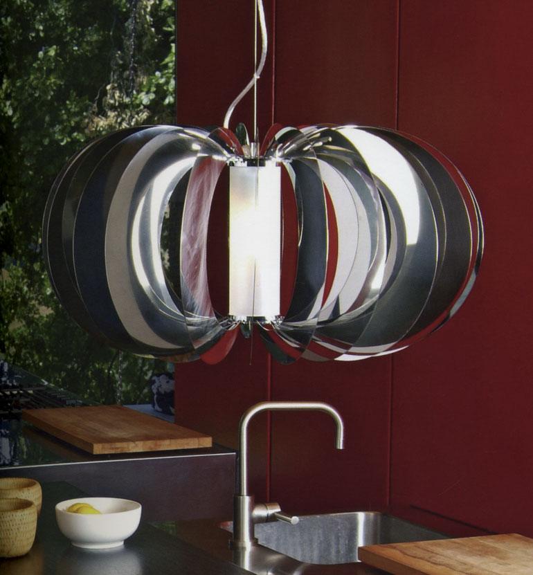 Sospensione moderna living o cucina for Oggettistica moderna on line